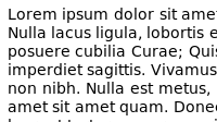 Bitstream Vera Sans on Linux