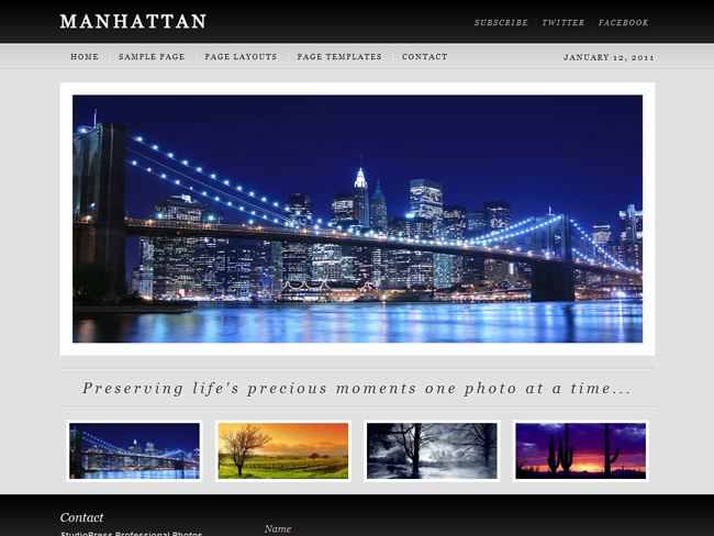 Manhattan Child Theme