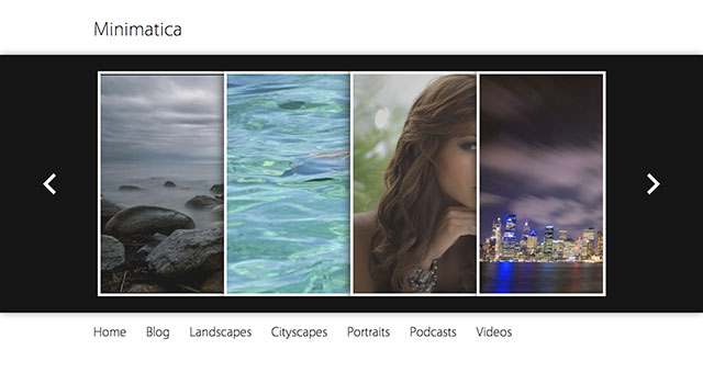 Minimatica Free WordPress Theme
