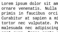 Nimbus Mono L on Linux