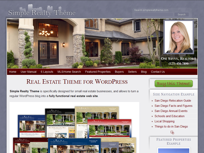 Simple Realty Child Theme
